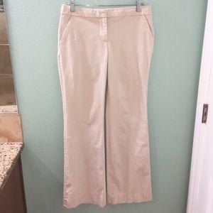 J. Crew City Fit Khaki Tan Dress Pant Trousers